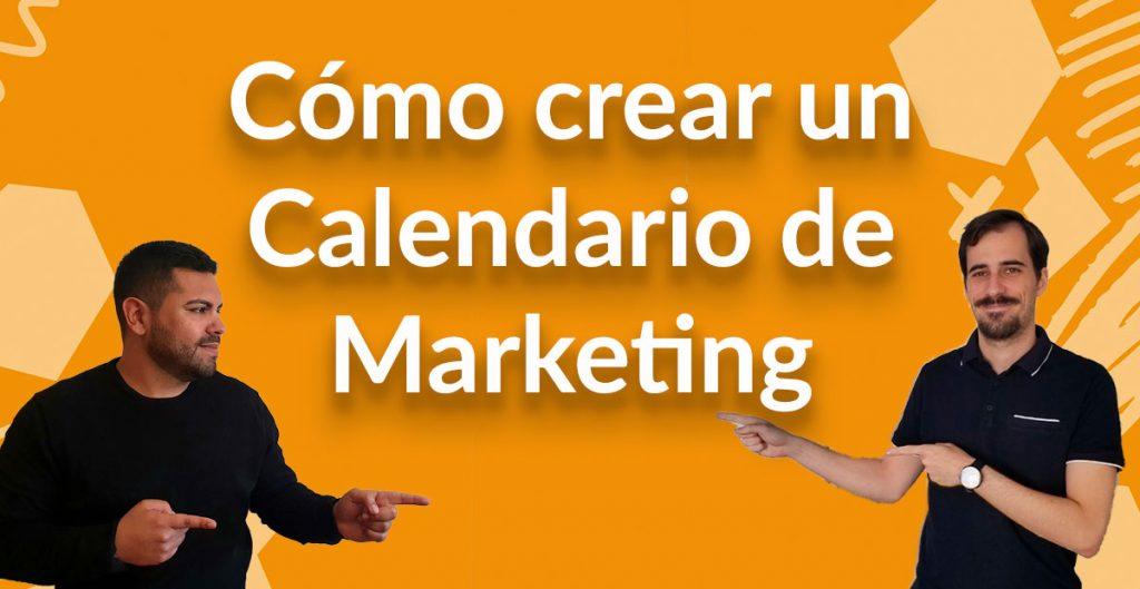 como crear calendario de marketing digital plantilla